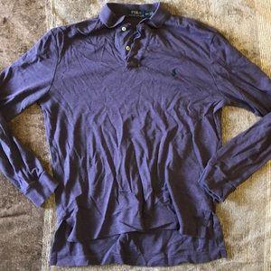 Polo Ralph Lauren purple polo shirt